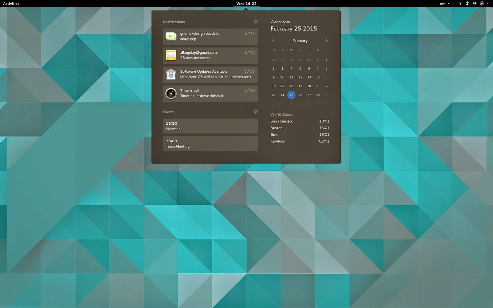 GNOME 3 16 Beta 2 Out Now, Users Can Test It via Fedora 22