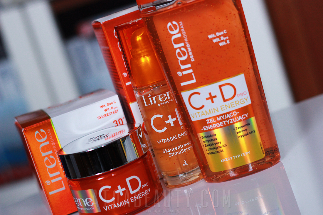 Lirene Dermoprogram C + D Pro Vitamin Energy