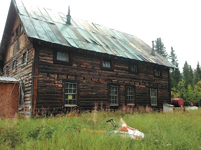 Alaska historic roadhouses: Slana Roadhouse.
