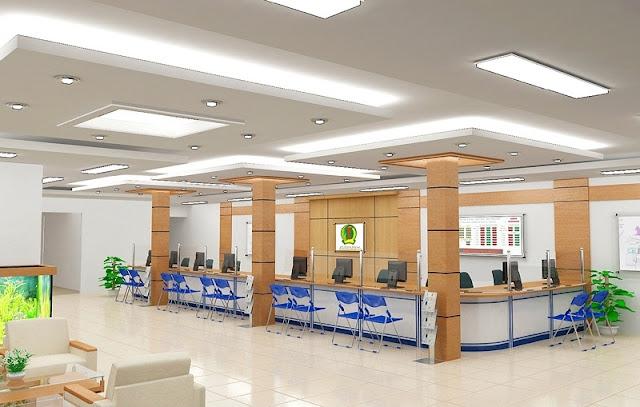 Thiết kế nội thất văn phòng giao dịch hiện đại khoa học