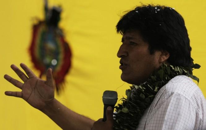 Políticos de Bolivia