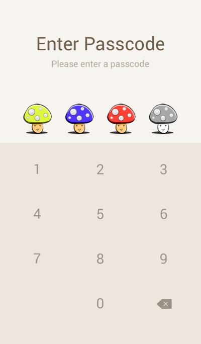 Mushroom cute.