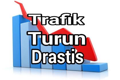 5 Penyebap Trafik Blog Turun Drastis