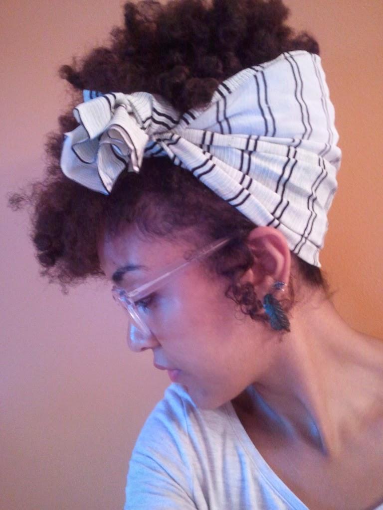 Estilo Pin-up para Negras: bandana