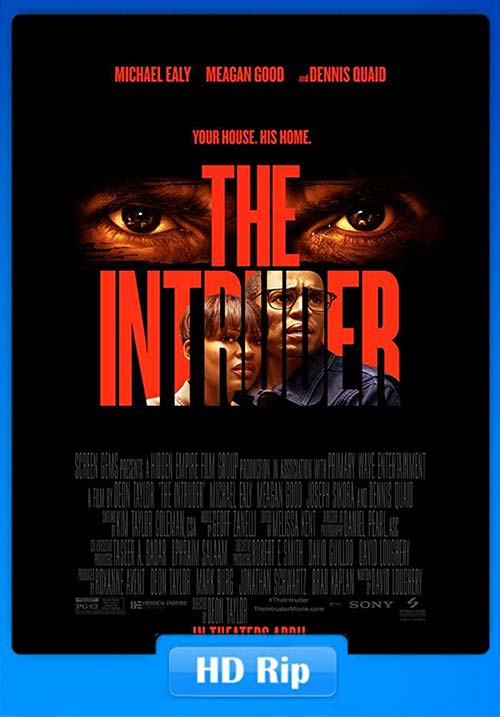The Intruder 2019 720p BDRip Hindi Tamil Telugu Eng ESubs x264 | 480p 300MB | 100MB HEVC