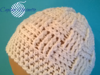Cuffietta neonato 100% lana merino