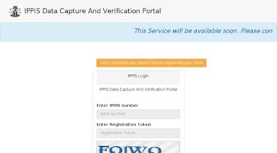 2018/19 IPPIS Verification,Registration Portal and Data Capture | How to Register online...