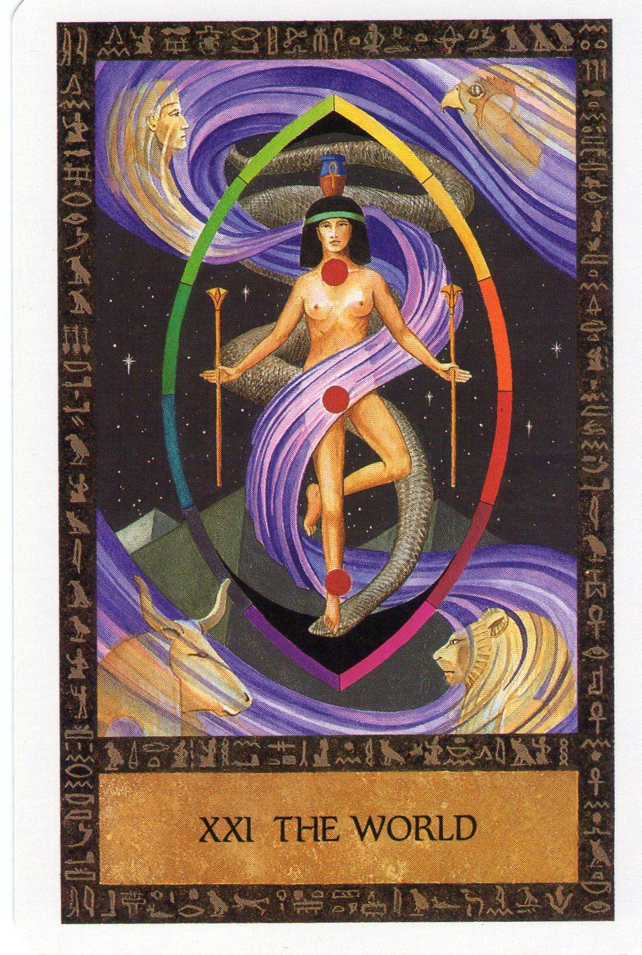 Ancient Egyptian Tarot Wisdom