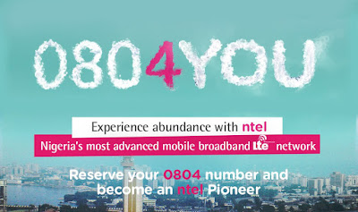 From Today you Can Now Reserve Your NTEL Number!