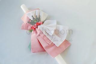 λαμπαδα-βαπτισης-κοριτσι-πριγκιπισσα-κορωνα-λουλουδια-ροζ-βεραμαν-χειροποιητη