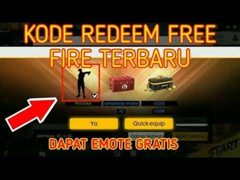 Kode Redeem FREE FIRE terbaru bulan APRIL