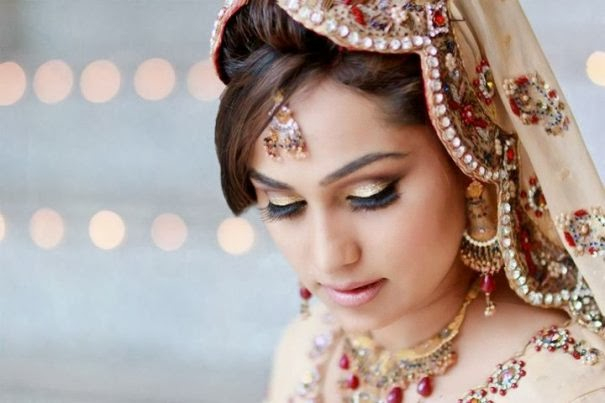 Hairstyle Wedding 2014: Indian And Pakistani Bridal Hairstyle 2014