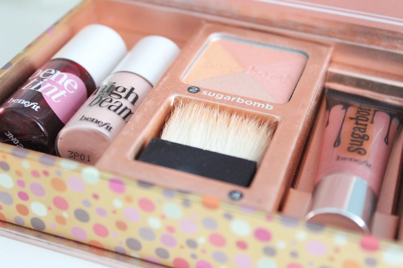 Sugarlicious Deliciously Nude Lip & Cheek Kit by Benefit #4