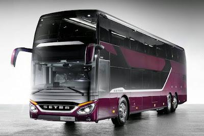 Este ônibus tem aerodinâmica melhor que a de um Volkswagen Up!