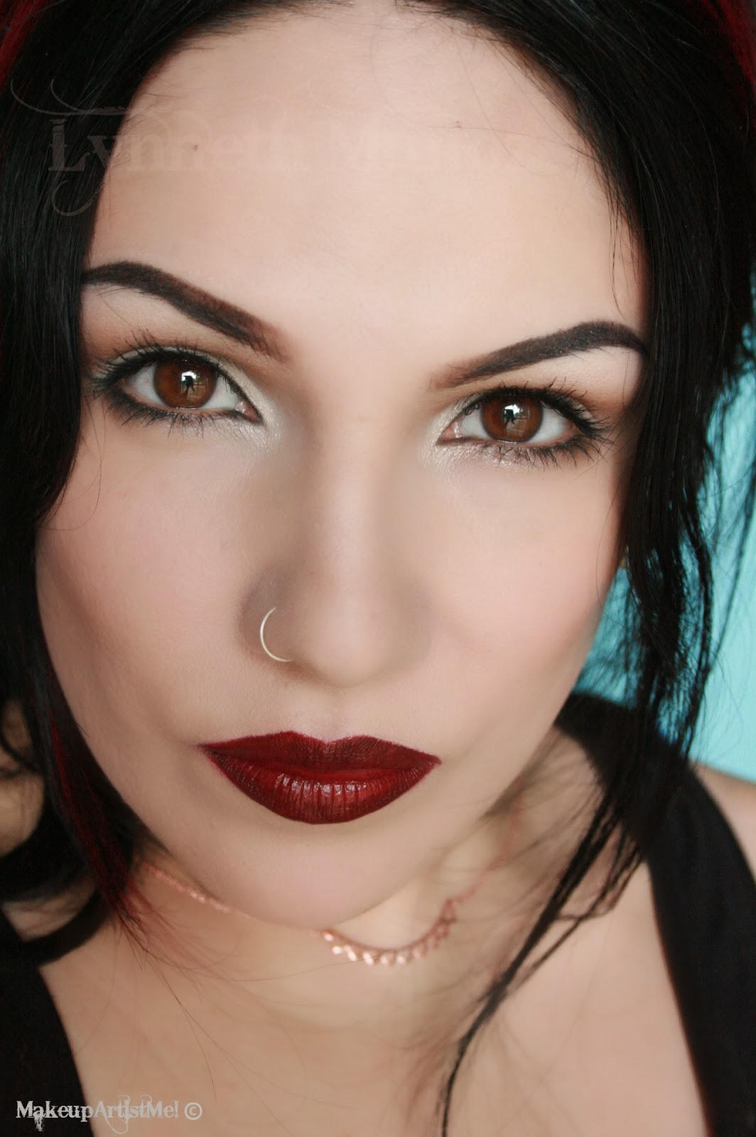 Make Up Lesson For Beginners: Make-up Artist Me!: Fall Vamp Makeup Tutorial