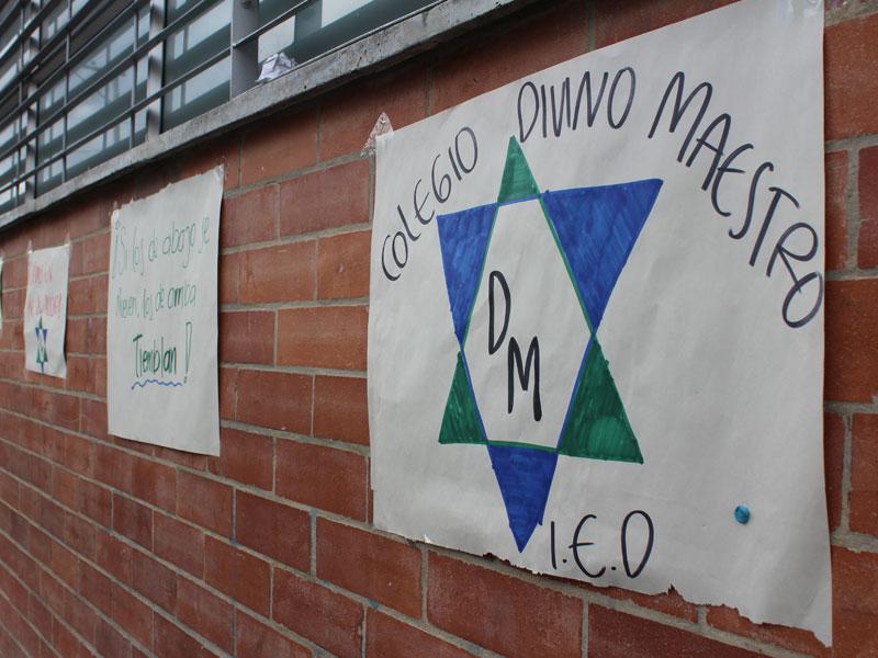 Colegio Divino Maestro en anormalidad académica contra políticas impuestas por la Secretaría