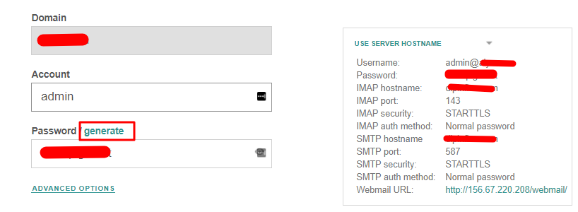 Create Email Account On VestaCP