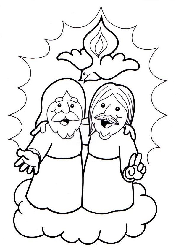 Pagina Para Colorear Espiritu Santo Dibujos Para Colorear E Imprimir