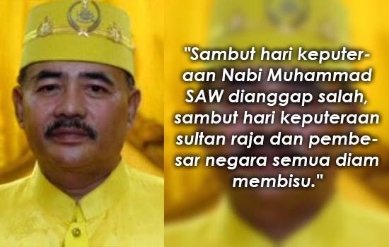 Sultan Melaka Ulas Isu Sambutan Hari Keputeraan Rasulullah SAW