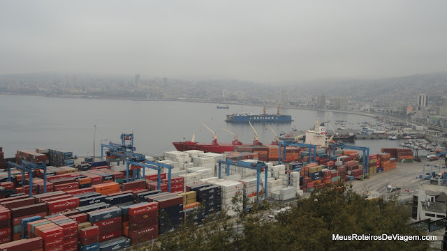 Porto de Valparaíso - Chile