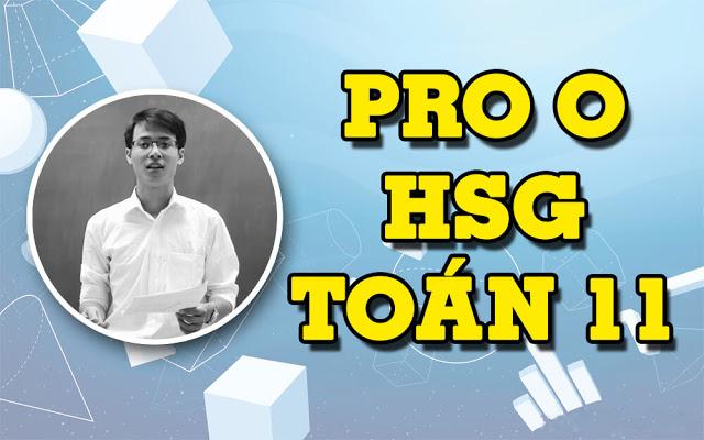 [Vted] Pro O chương trình học sinh giỏi Toán 11 - Thầy Đặng Thành Nam