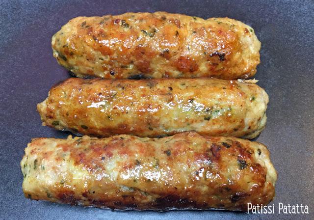 recette de saucisses maison, saucisses faciles à faire, saucisses caramélisées, saucisses asiatiques, saucisses sucrées et salées, faire des saucisses sans matériel, saucisses au soja, fait maison, homme made sausages, patissi-patatta