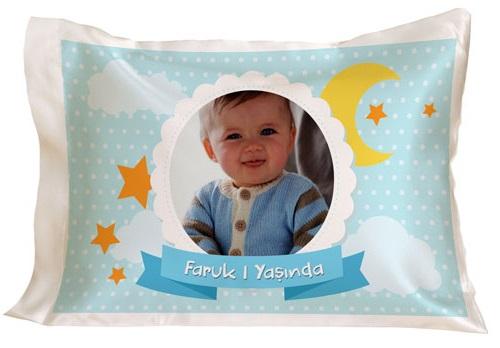fotoğraflı Bebek Yastığı