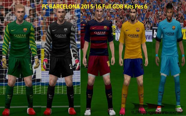 93ead821407 FC Barcelona 2015 Kit. FC Barcelona 2015 Kit. Ultigamerz Inter Milan 2015-16  Full Kits Update Pes 6
