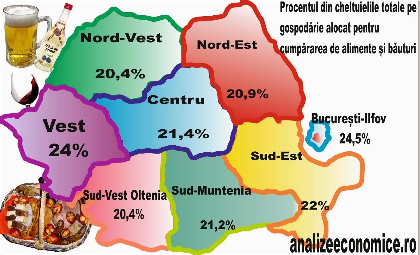 Unde se mănâncă și se bea mai mult în România
