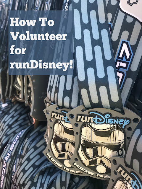 How to Volunteer for runDisney races!