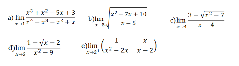 limites de funciones
