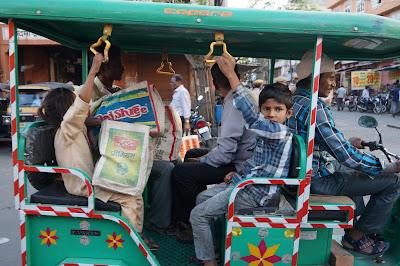 Rickshaw di Jaipur