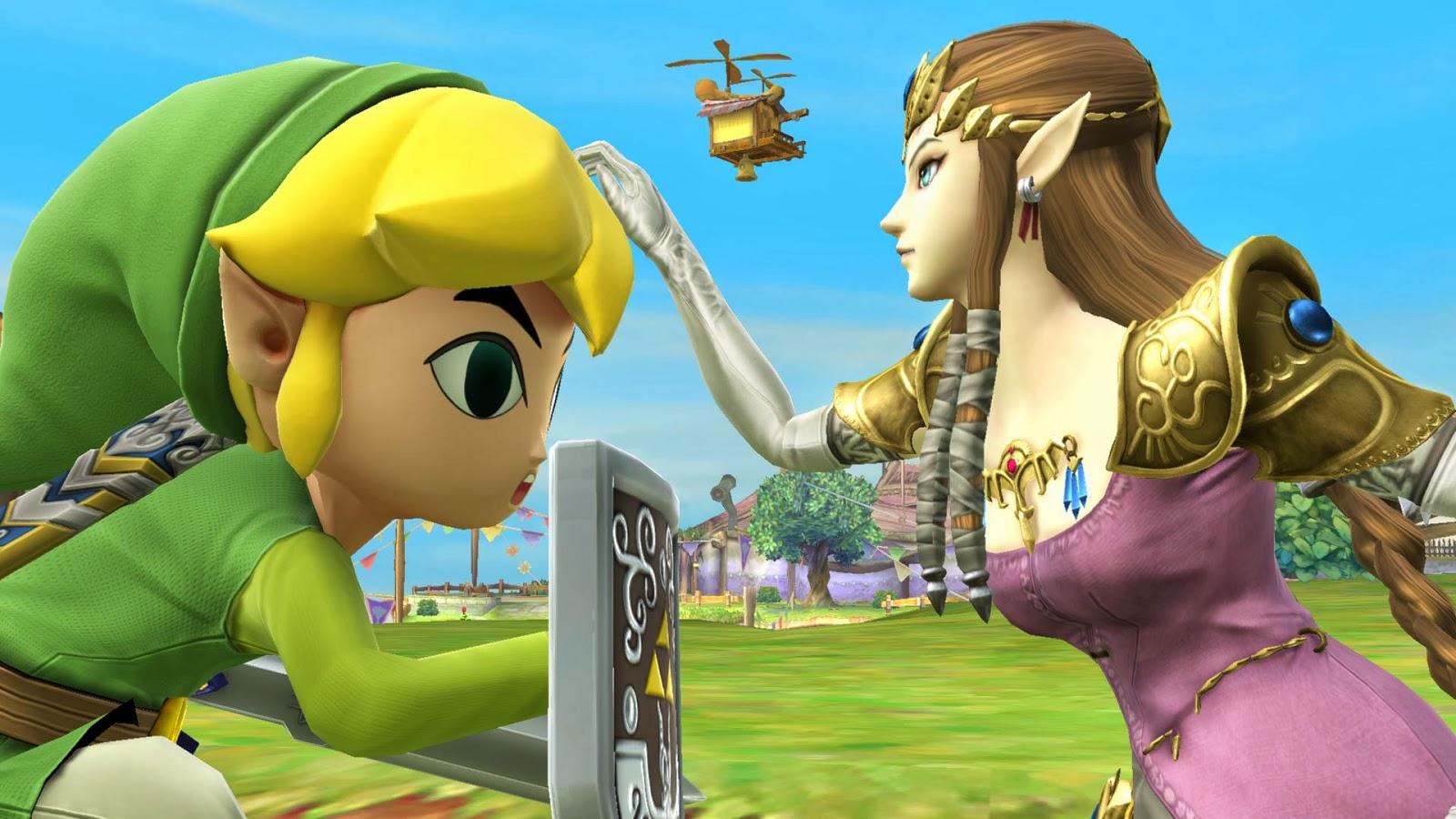 Princesa Zelda emana encanto e magia em nova rodada de