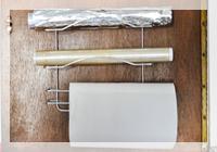 três rolos na cozinha