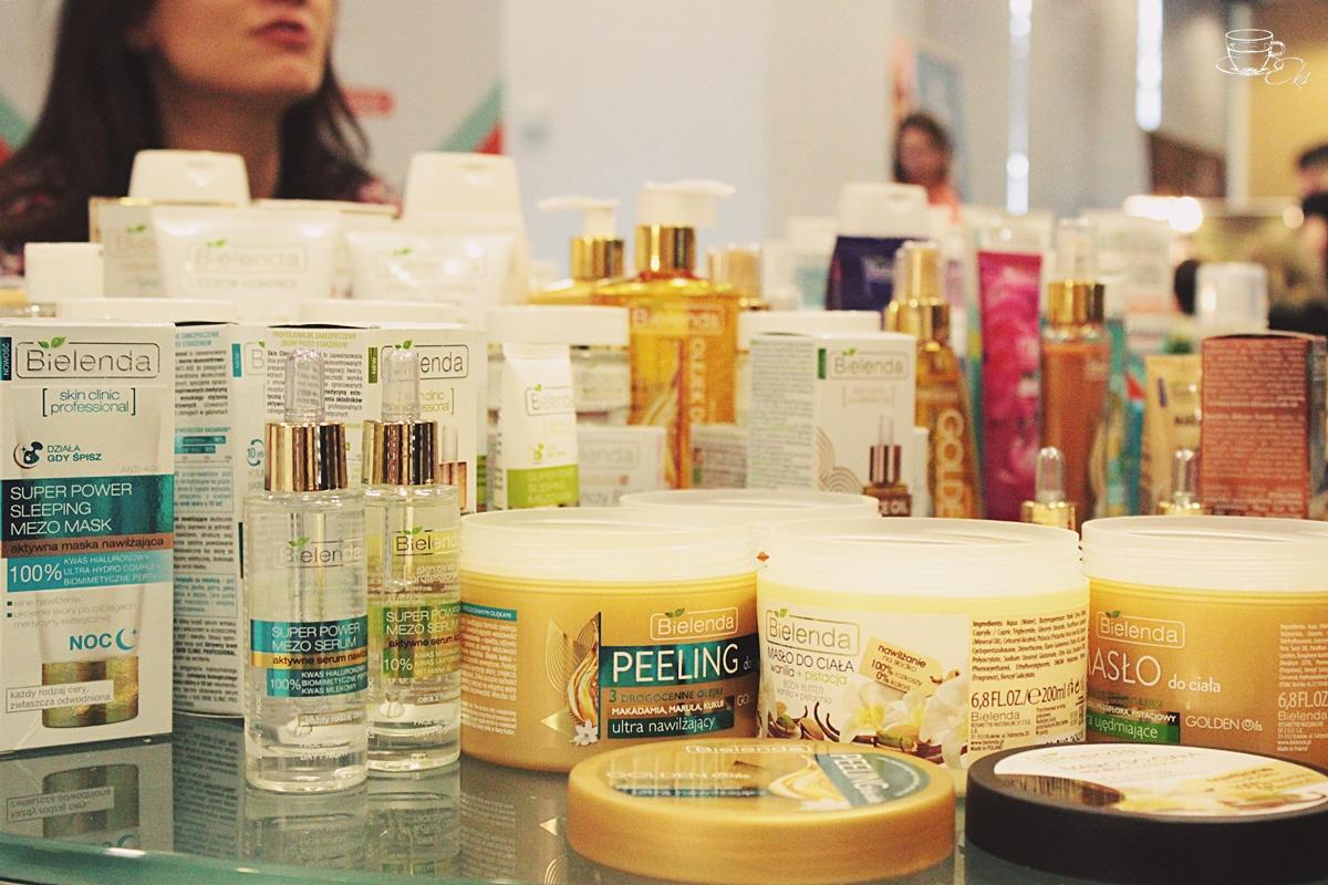 Stanowisko marki Bielenda i kosmetyki