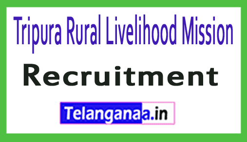 Tripura Rural Livelihood Mission TRLM Recruitment
