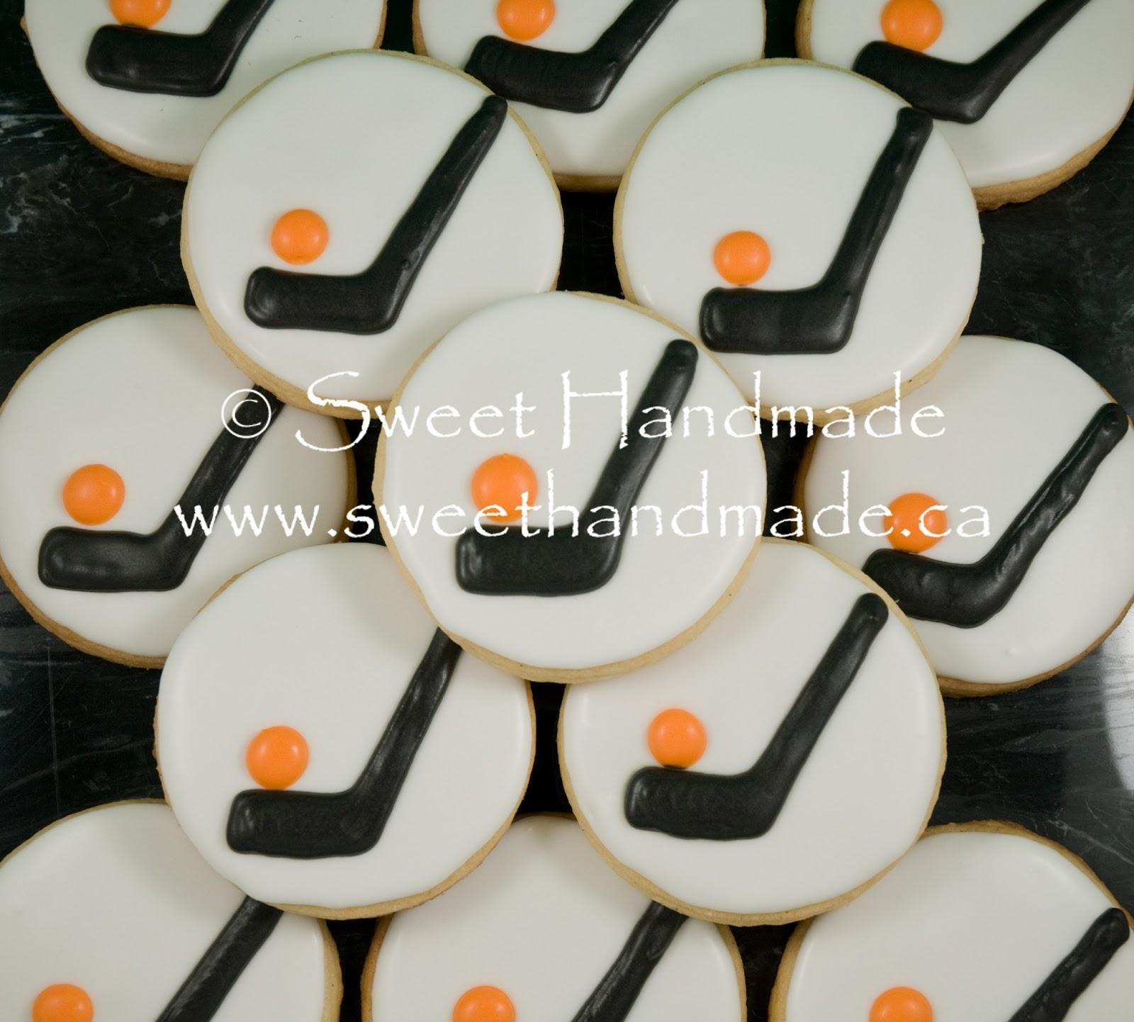 Sweet Handmade Cookies: Ball Hockey Tournament Cookies