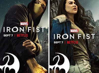 Marvel's Iron Fist Season 2 Teaser One Sheet Television Poster by Netflix