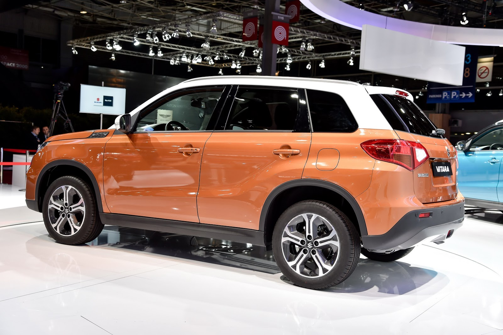 new suzuki vitara compact suv could be mistaken for a. Black Bedroom Furniture Sets. Home Design Ideas