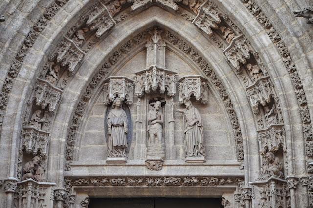 Resultado de imagen de puerta del bautismo de la catedral de sevilla