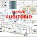 Planos Arquitectónicos de un Auditorio - AUTOCAD