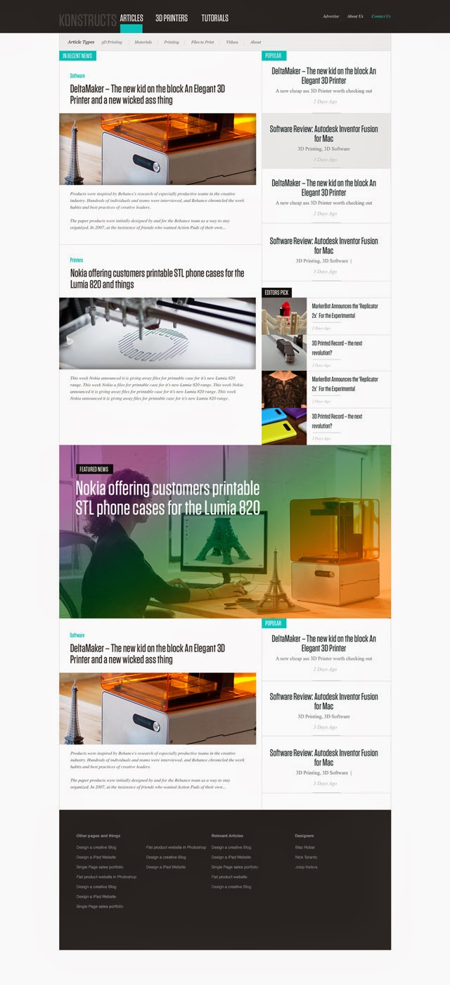 News-Or-Blog-Free-PSD