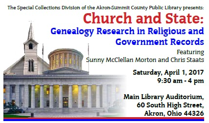 Mcdl genealogy march 2017 flyer from akron summit county public library fandeluxe Choice Image