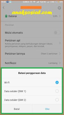 Cara Nonaktifkan Data Internet pada Suatu Aplikasi 4