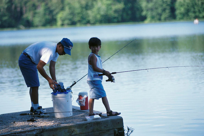 Plainfield today rec division has two kids 39 activities for Is today a good fishing day
