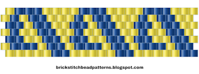 Free Brick Stitch Bead Pattern 6 Download