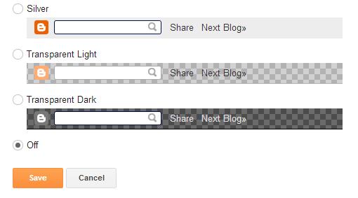 Menghapus Navbar Blog