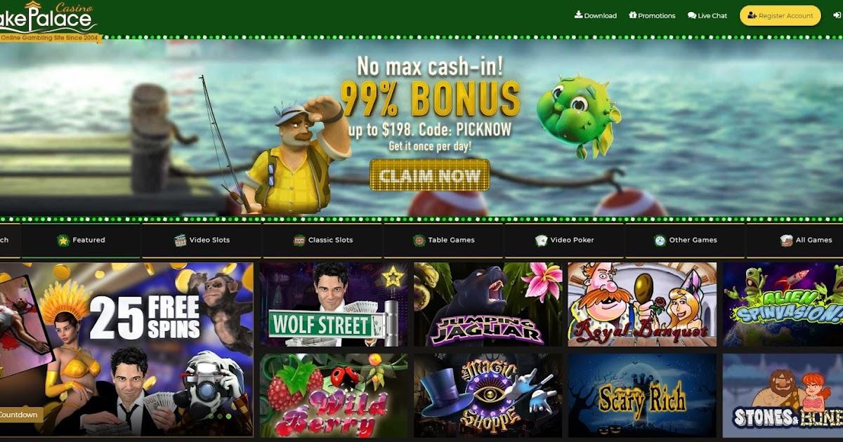 Lake Palace Casino No Deposit Bonus Codes 2021
