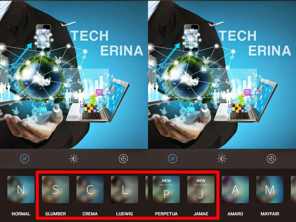 Instagram app gets five new filters | TechErina