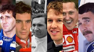 Rumbo al GP de México 2016: Los 10 mejores pilotos que han corrido en el Autódromo Hermanos Rodríguez